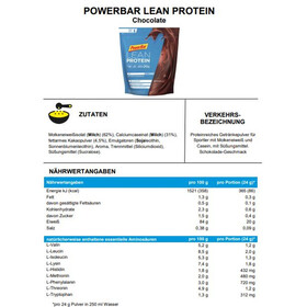 PowerBar Lean Protein Pack Chocolate 500g